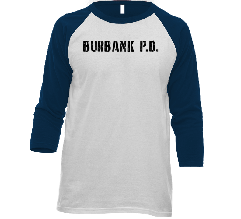 Bpa Burbank Police Dept Movie Tv Show Inspired Raglan T Shirt