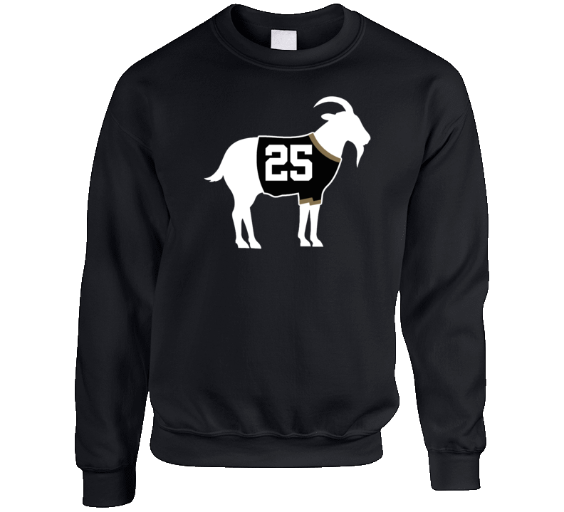 Chris Pronger Goat Greatest Of All Time Anaheim Hockey Player Fan Crewneck Sweatshirt