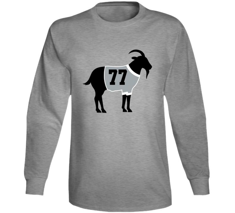 Paul Coffey Goat Greatest Of All Time Los Angeles Hockey Player Fan Long Sleeve Shirt
