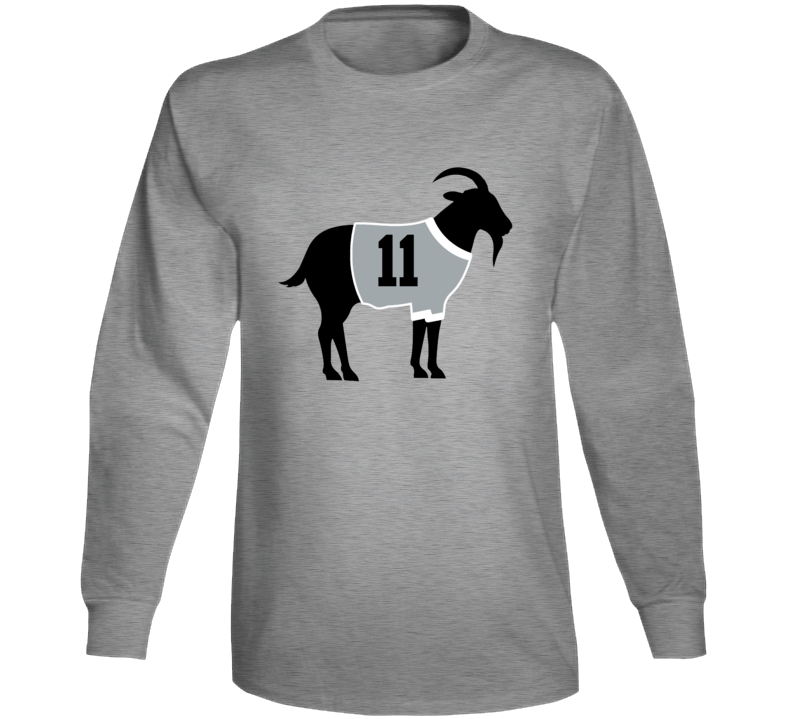 Anze Kopitar Goat Greatest Of All Time Los Angeles Hockey Player Fan Long Sleeve Shirt