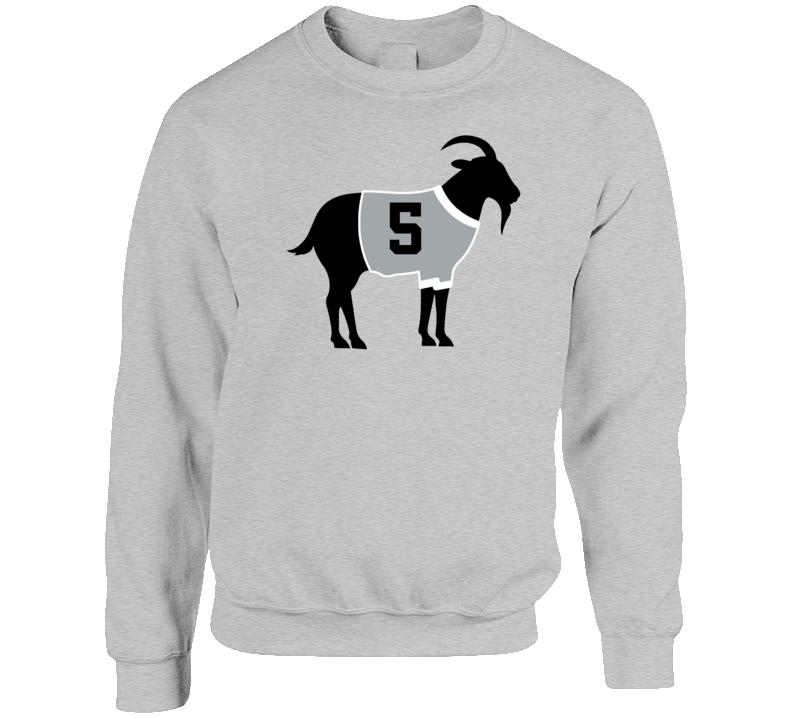 Harry Howell Goat Greatest Of All Time Los Angeles Hockey Player Fan Crewneck Sweatshirt