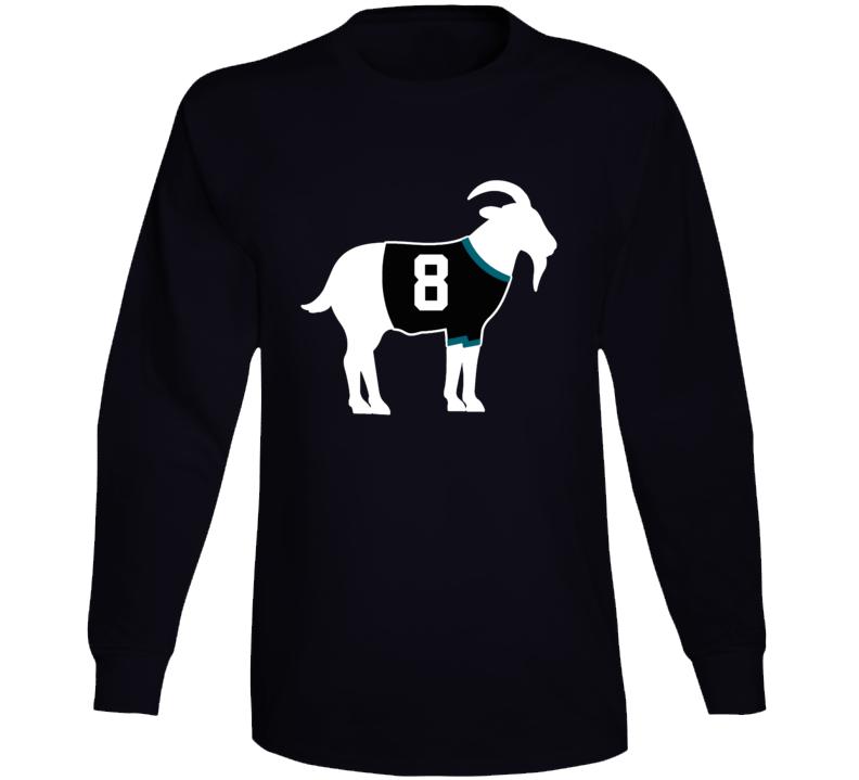 Teemu Selanne Goat Greatest Of All Time San Jose Hockey Player Fan Long Sleeve Shirt