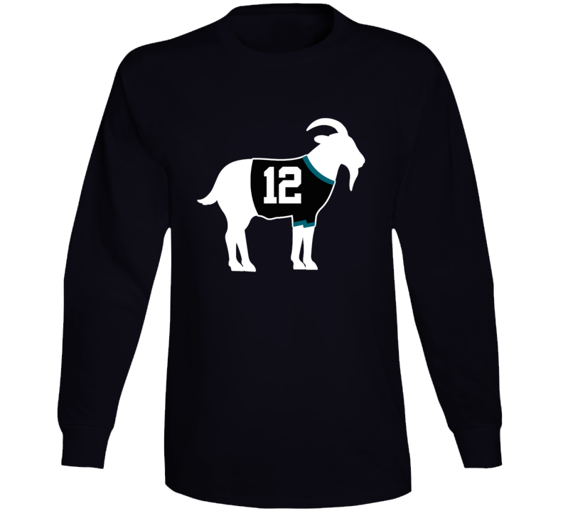 Patrick Marleau Goat Greatest Of All Time San Jose Hockey Player Fan Long Sleeve Shirt