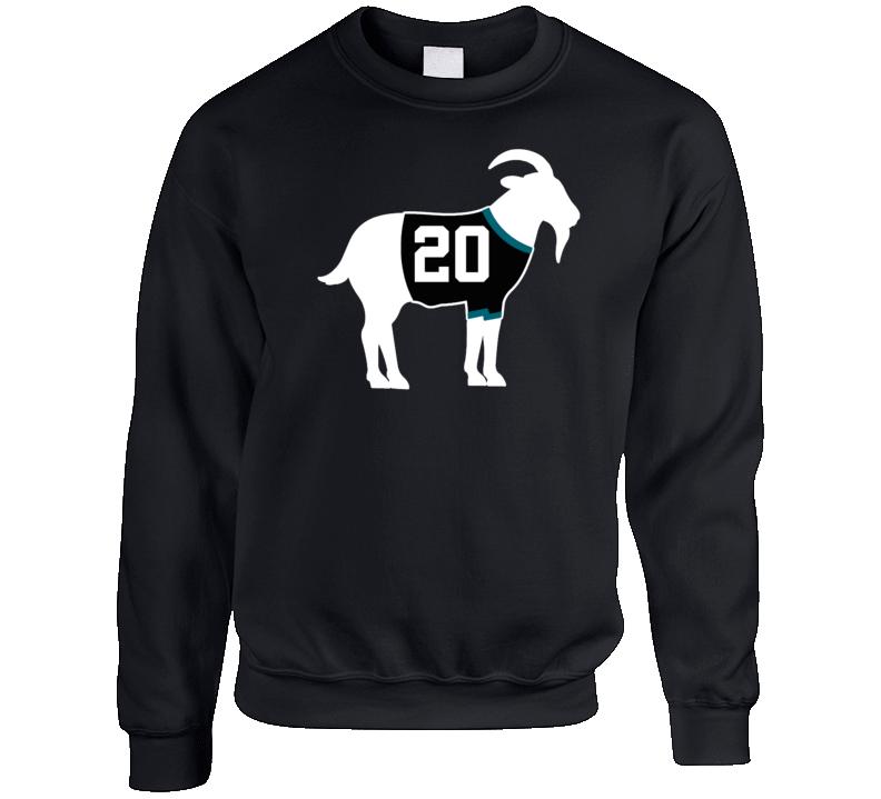 Ed Belfour Goat Greatest Of All Time San Jose Hockey Player Fan Crewneck Sweatshirt