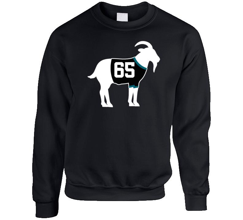 Erik Karlsson Goat Greatest Of All Time San Jose Hockey Player Fan Crewneck Sweatshirt