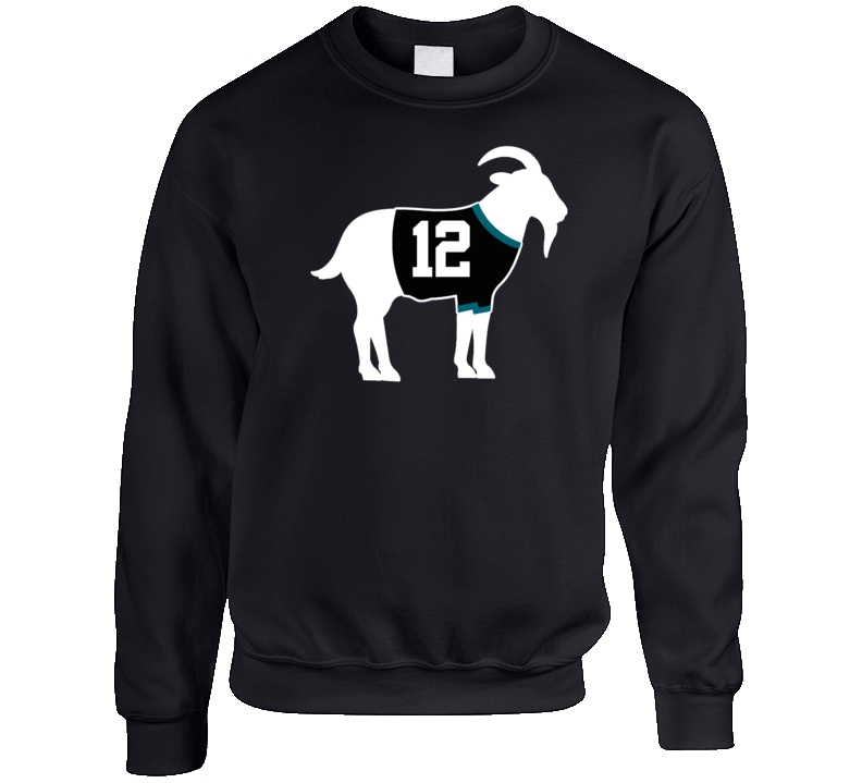 Patrick Marleau Goat Greatest Of All Time San Jose Hockey Player Fan Crewneck Sweatshirt