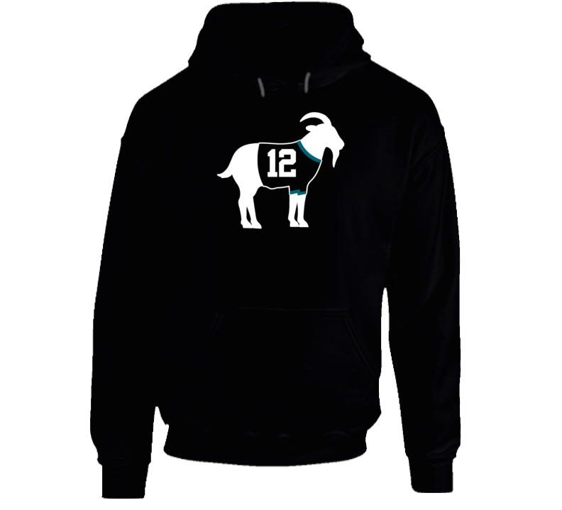 Patrick Marleau Goat Greatest Of All Time San Jose Hockey Player Fan Hoodie