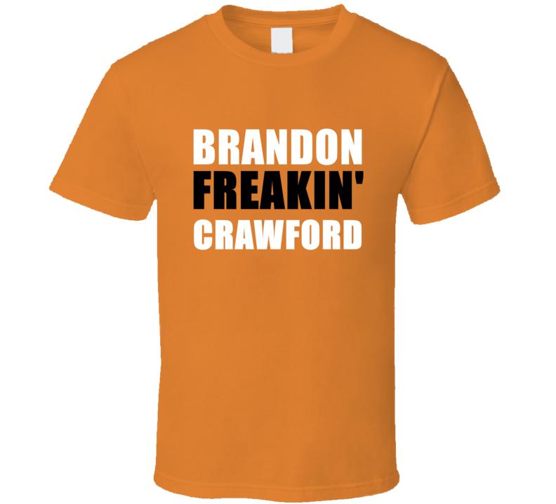 Brandon Crawford Freakin Baseball San Francisco Sports California T Shirt