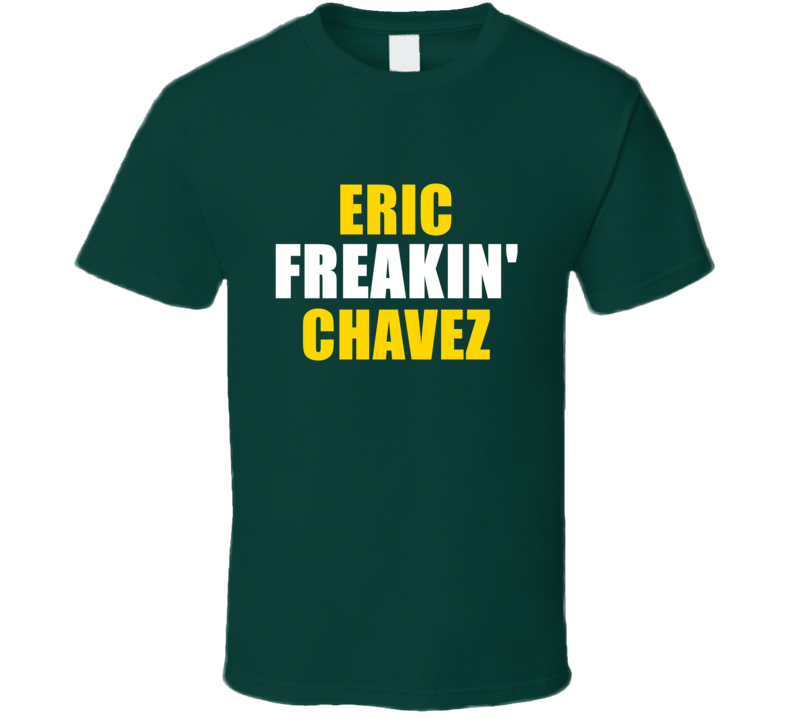 Eric Chavez Freakin Baseball Oakland Sports California T Shirt