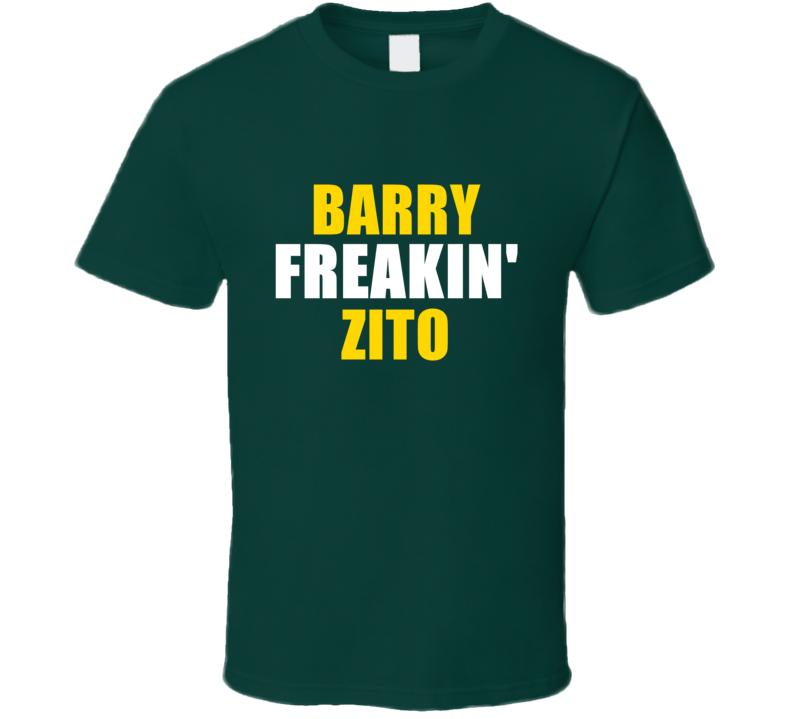Barry Zito Freakin Baseball Oakland Sports California T Shirt