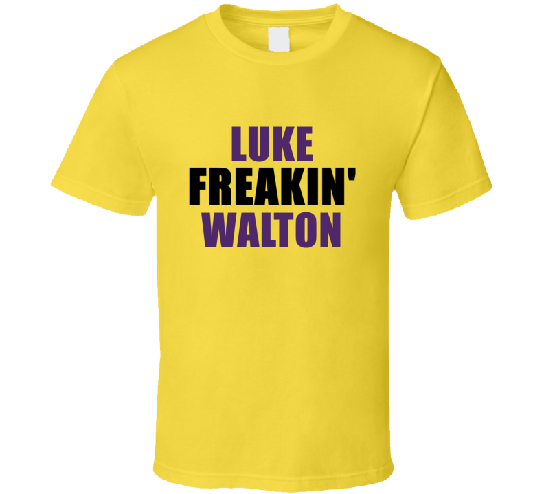 Luke Walton Freakin Sports Basketball Los Angeles California T Shirt