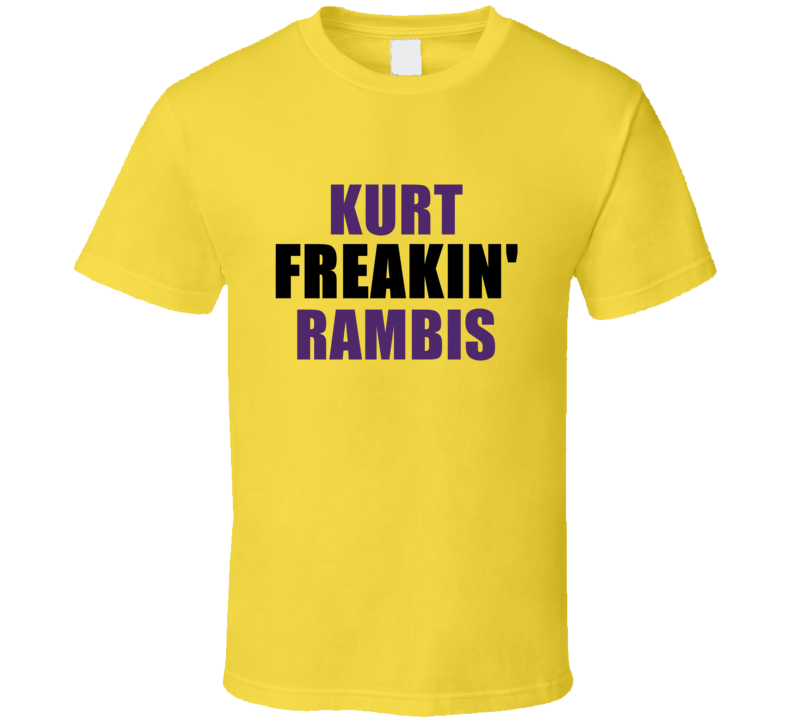 Kurt Rambis Freakin Sports Basketball Los Angeles California T Shirt