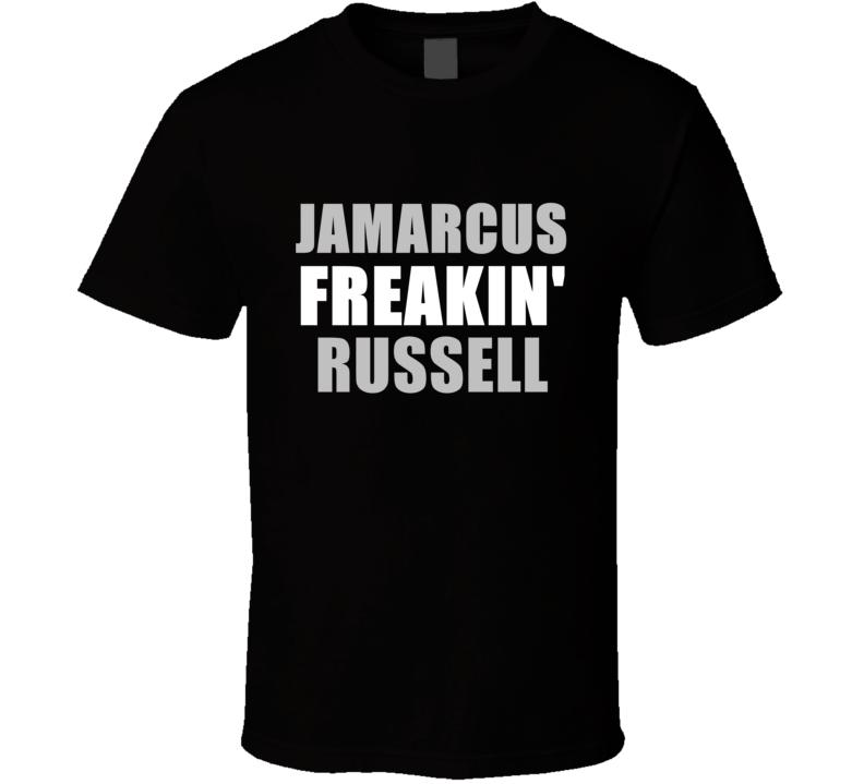 JaMarcus Russell Freakin Football Oakland Los Angeles Sports California T Shirt