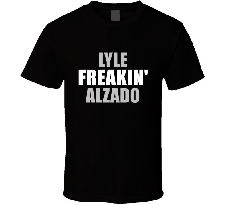 Lyle Alzado Freakin Football Oakland Los Angeles Sports California T Shirt