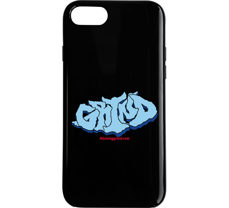 Grind  Rock Outline Phone Case