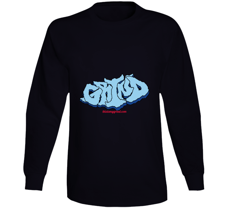 Grind  Rock Outline Long Sleeve