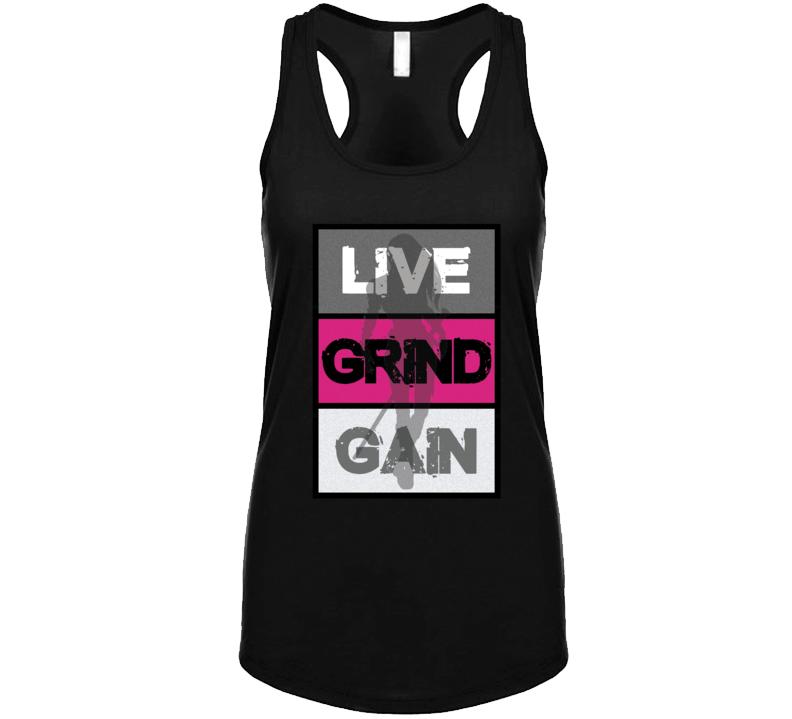 Live Grind Gain  Tanktop