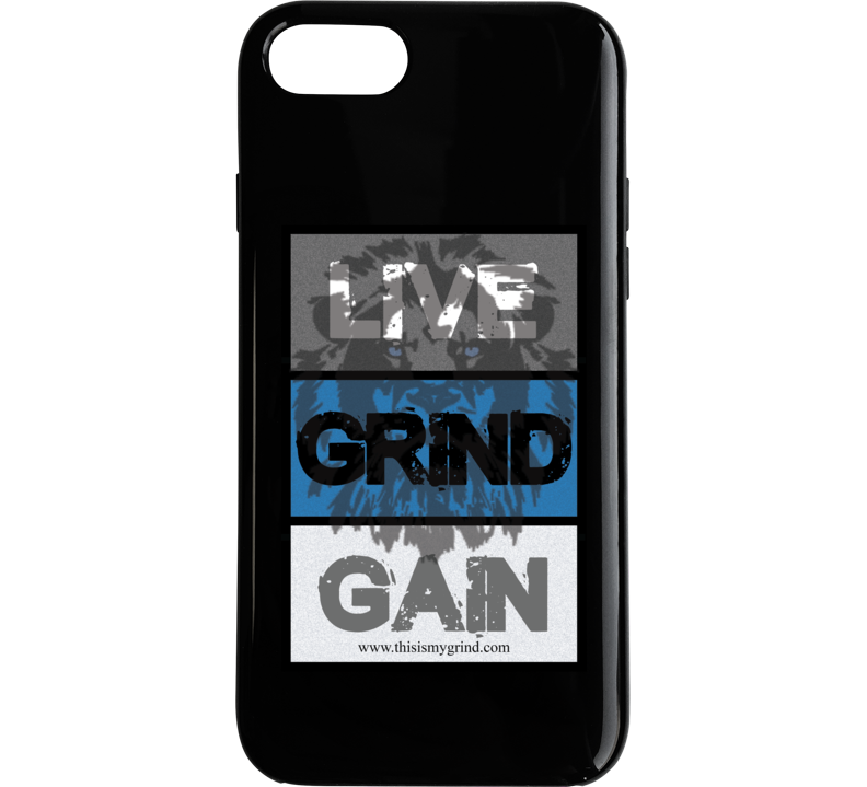 Live Grind Gain Phone Case
