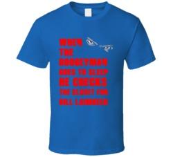 Bill Laimbeer Detroit Michigan Sports Boogeyman T shirt