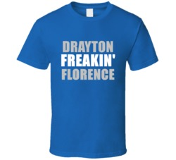 Drayton Florence Freakin Football Detroit Sports Michigan T Shirt