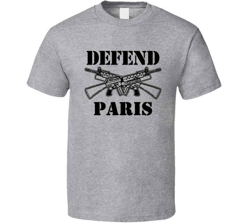 Paris Michigan Defend 2nd Amendment T Shirt