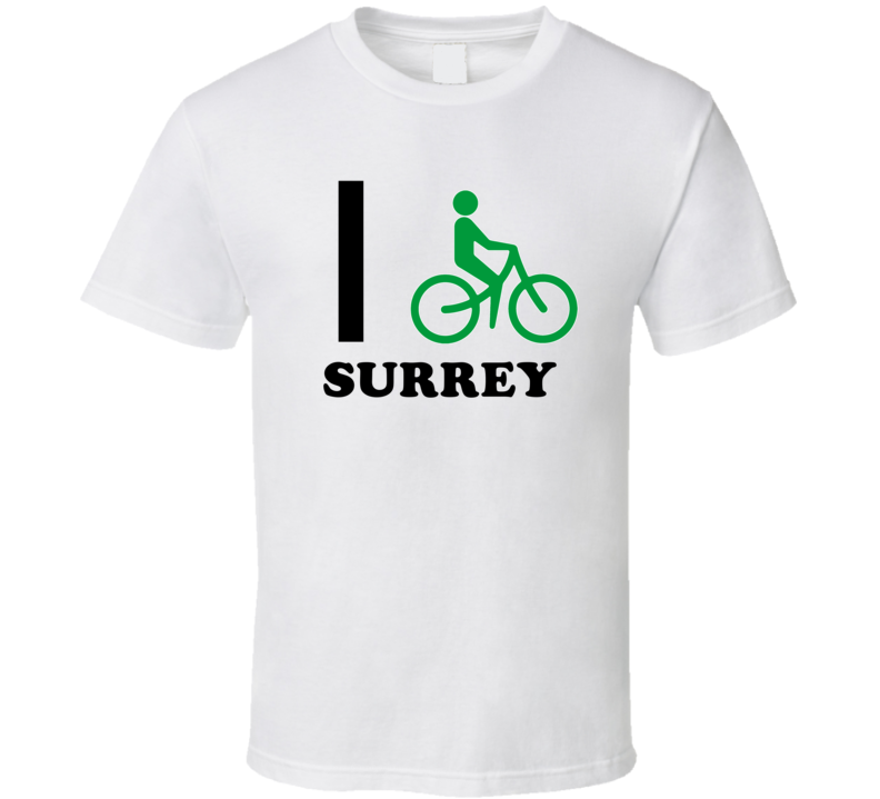 Surrey Michigan I Bike Bicycle T Shirt