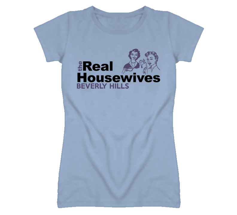 Beverly Hills Michigan Real Housewives Funny T Shirt