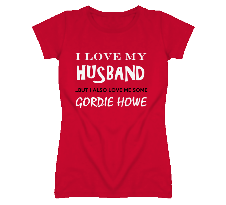 Gordie Howe Detroit Michigan HockeyTown Run Jog Love Funny T shirt