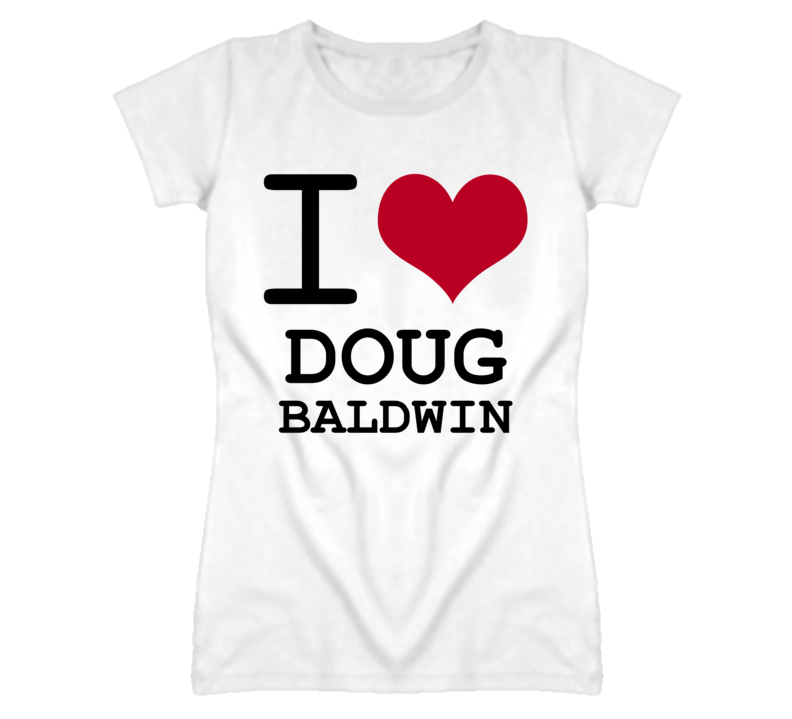 Doug Baldwin Detroit Michigan Hockeytown I Love T shirt