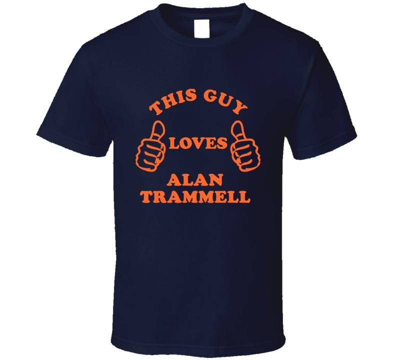 Alan Trammell Detroit Michigan Baseball This Guy T shirt