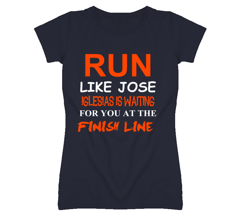 Jose Iglesias Detroit Michigan Baseball Run Inspiration T shirt