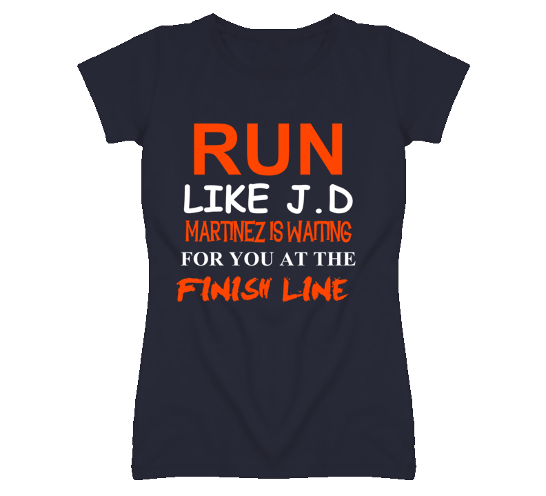 J D Martinez Detroit Michigan Baseball Run Inspiration T shirt
