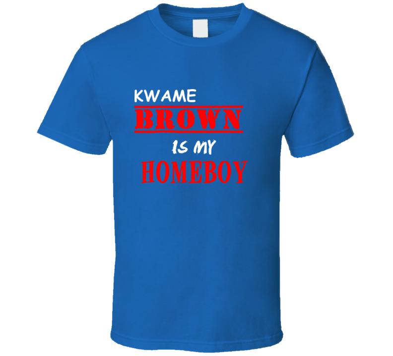 Kwame Brown Detroit Michigan Sports Homeboy T shirt