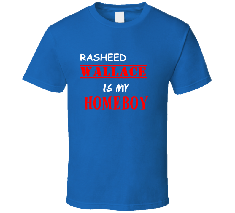 Rasheed Wallace Detroit Michigan Sports Homeboy T shirt