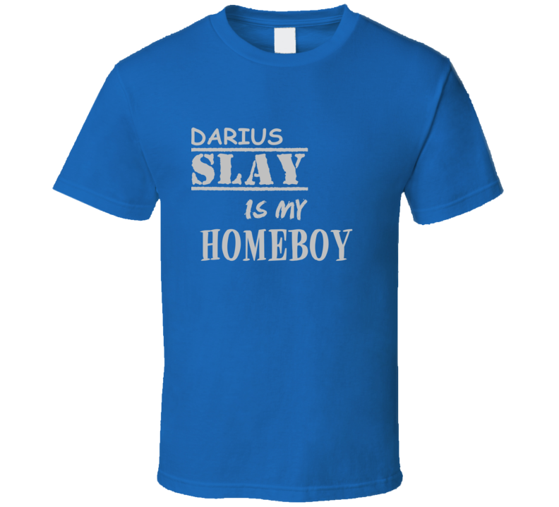 Darius Slay Detroit Michigan Sports Homeboy T shirt