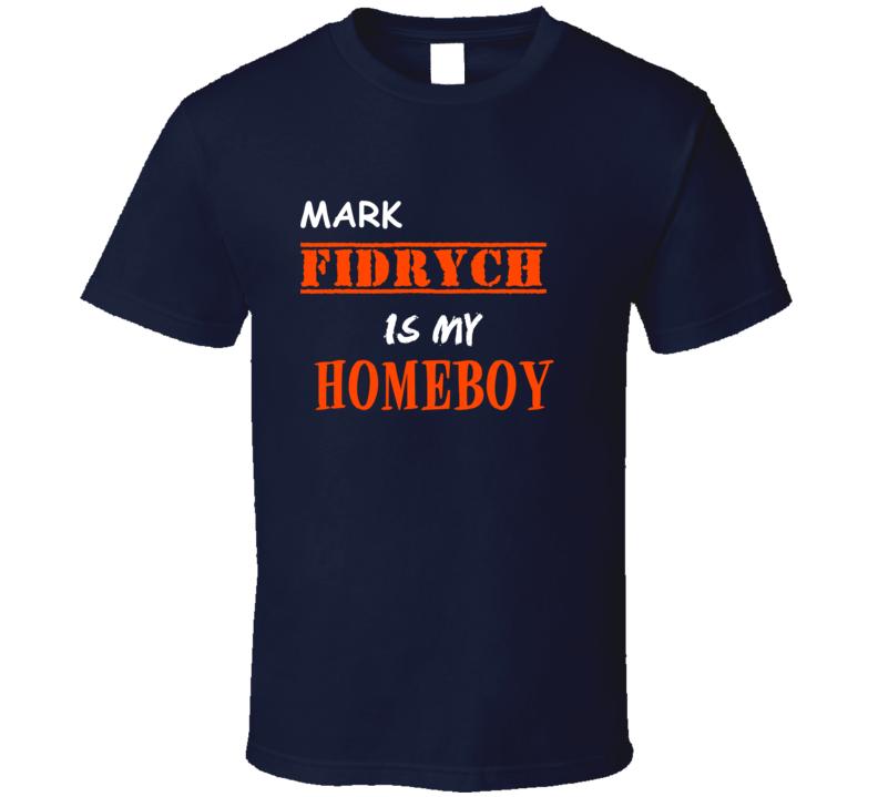 Mark Fidrych Detroit Michigan Sports Homeboy T shirt