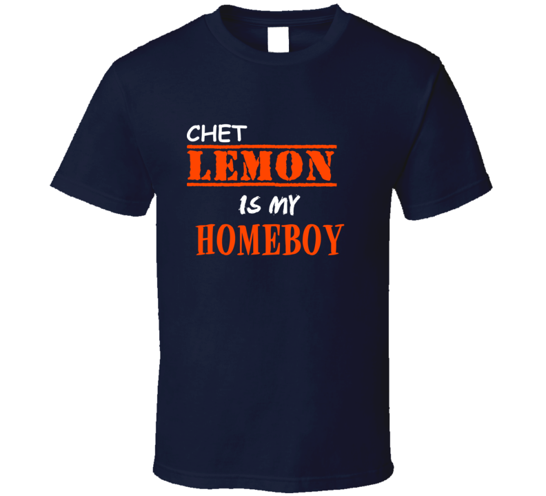 Chet Lemon Detroit Michigan Sports Homeboy T shirt