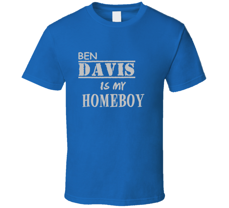 Ben Davis Detroit Michigan Sports Homeboy T shirt