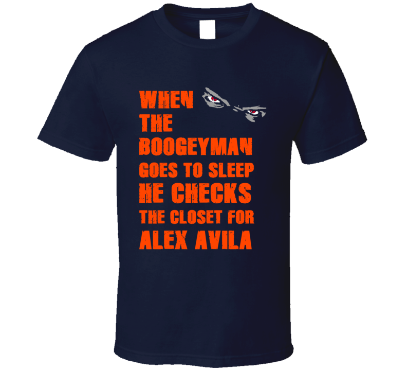 Alex Avila Detroit Michigan Baseball Boogeyman T shirt