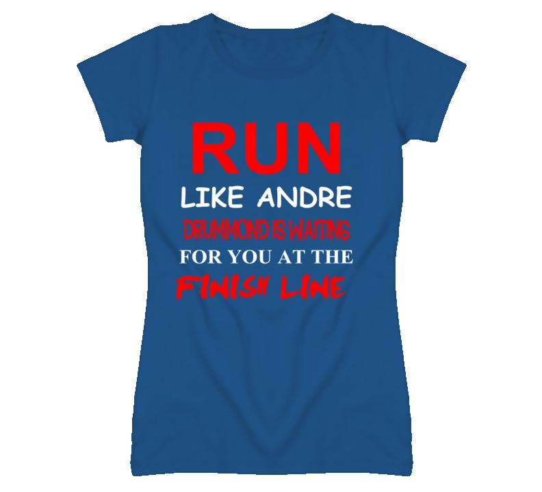 Andre Drummond Detroit Michigan Run Inspiration T shirt