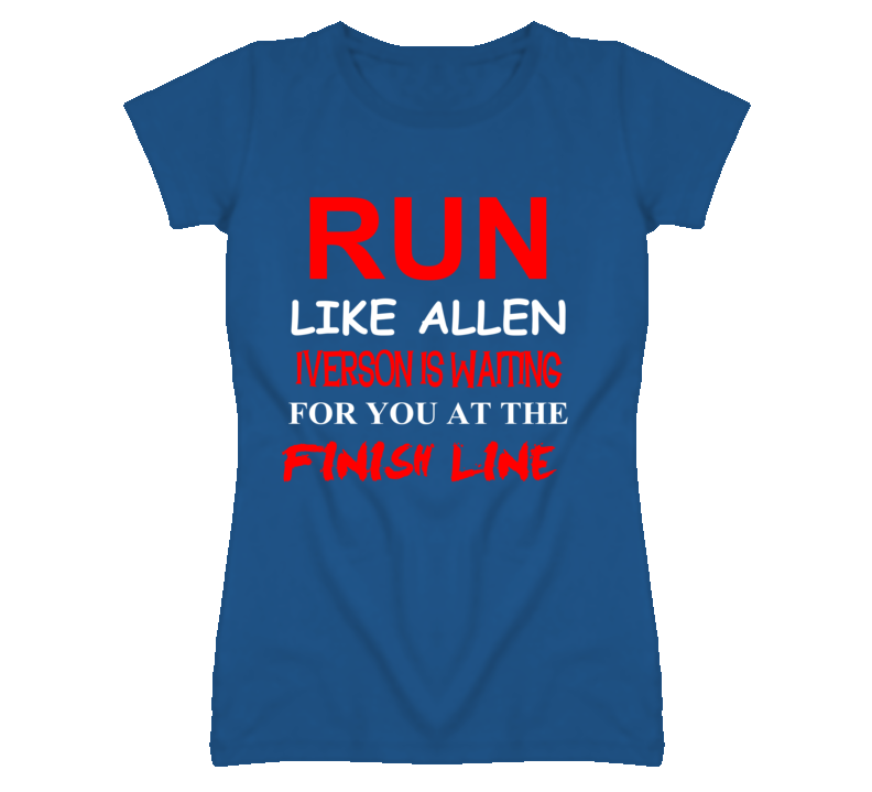 Allen Iverson Detroit Michigan Run Inspiration T shirt