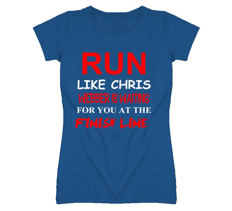 Chris Webber Detroit Michigan Run Inspiration T shirt