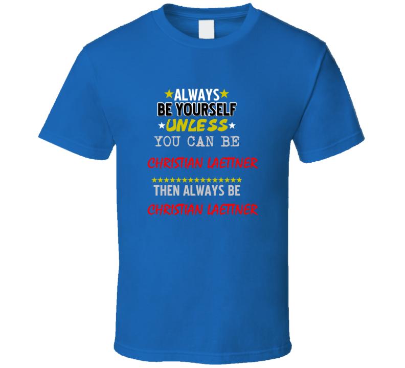 Christian Laettner Detroit Michigan Sports Always Be T shirt