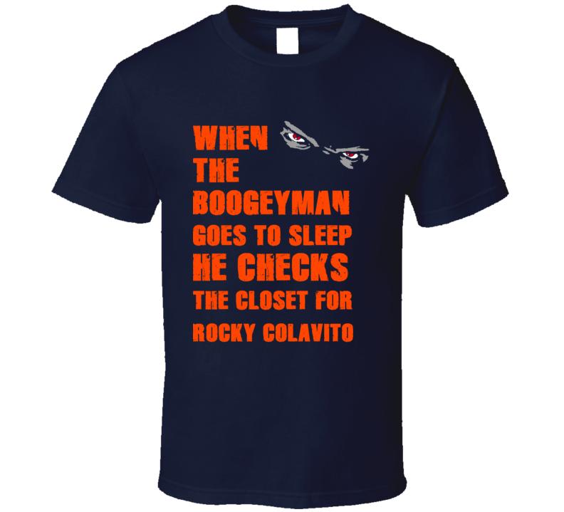 Rocky Colavito Detroit Michigan Baseball Boogeyman T shirt