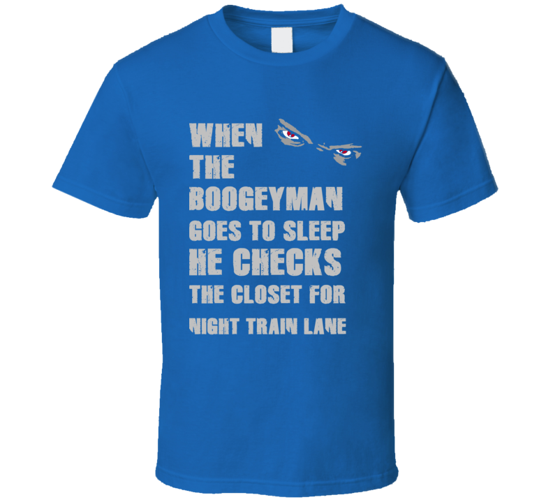 Night Train Lane Detroit Michigan Sports Boogeyman T shirt