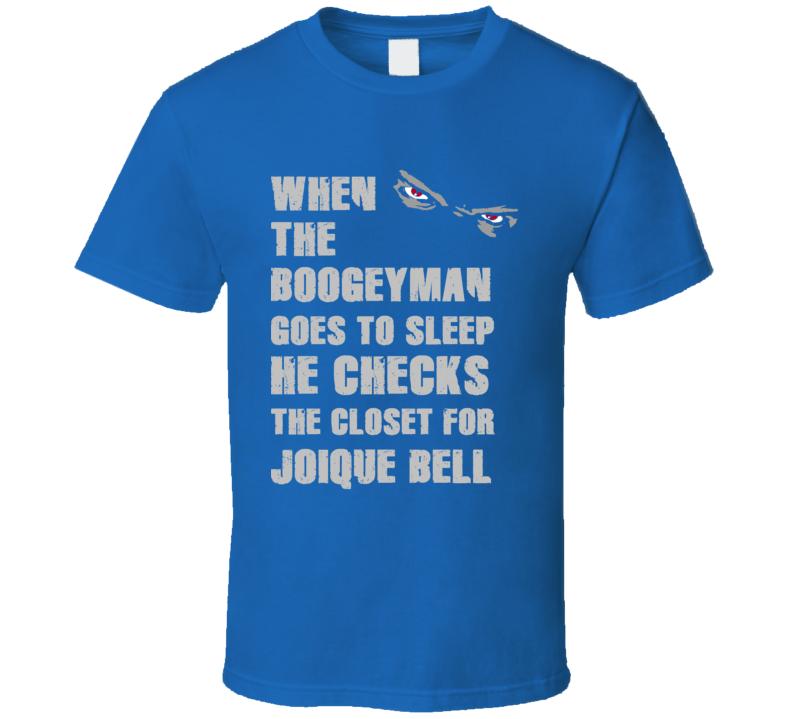 Joique Bell Detroit Michigan Sports Boogeyman T shirt