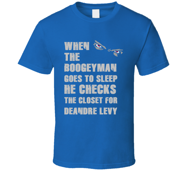 DeAndre Levy Detroit Michigan Sports Boogeyman T shirt