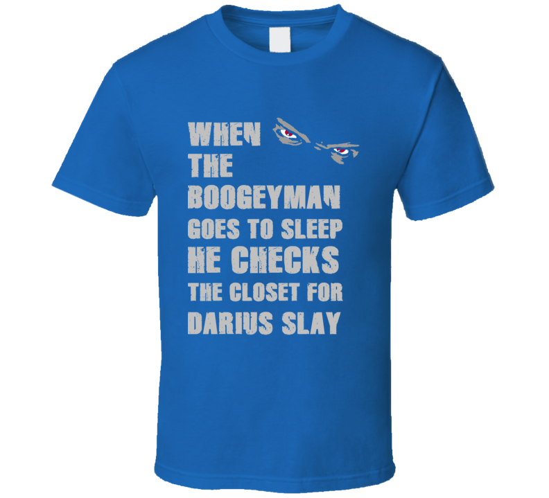 Darius Slay Detroit Michigan Sports Boogeyman T shirt