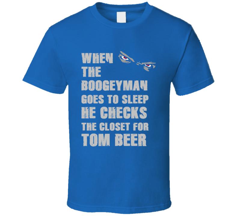 Tom Beer Detroit Michigan Sports Boogeyman T shirt