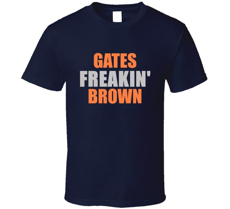 Freakin Detroit Michigan Baseball Sports T Shirt
